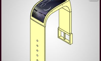 Latest Patent_LG patented cool wrist smartphone
